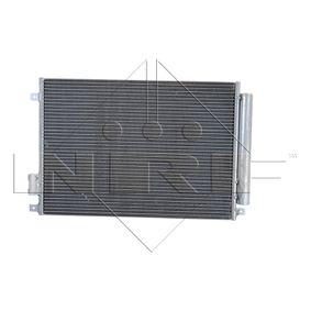 Nrf condensador aire acondicionado 35753 Abarth 500 chrysler fiat panda ford ka Lancia