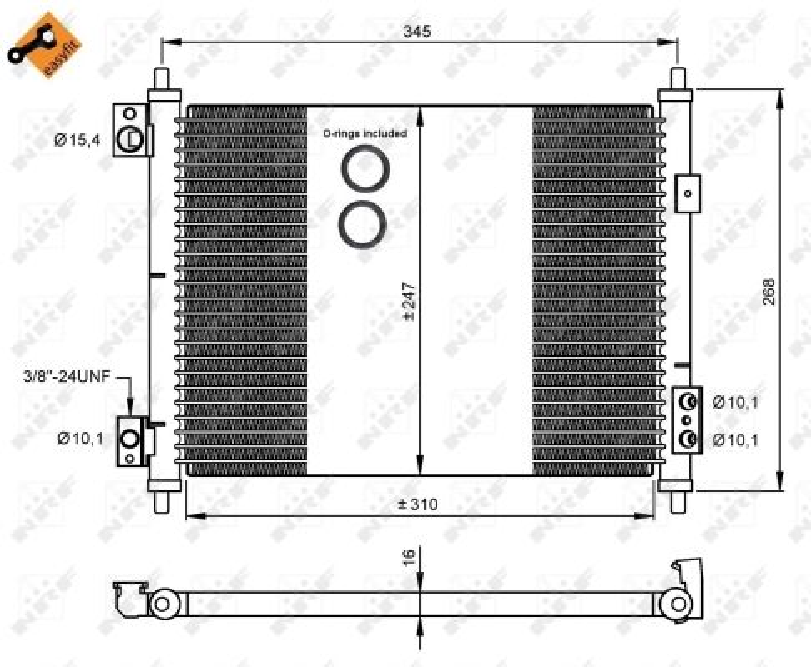 NISSAN NT400 2020 Kfz-Klimatisierung - Original NRF 35926 Kältemittel: R 134a