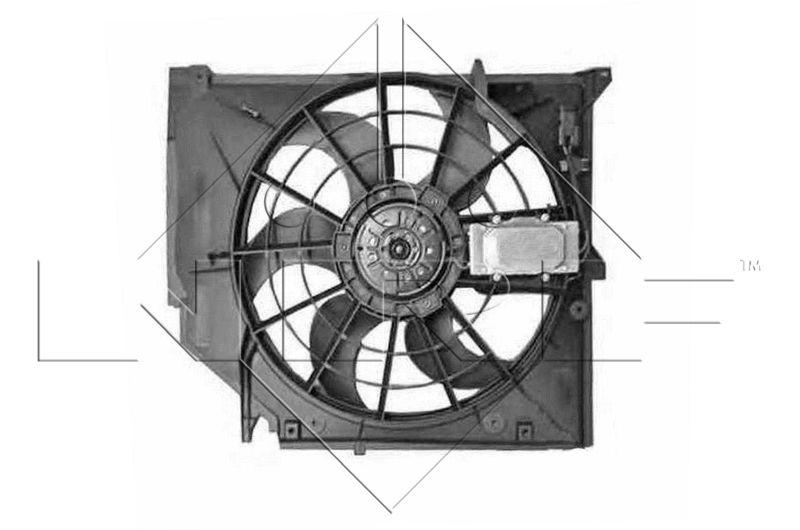 NRF: Original Kühlerlüfter 47026 ()