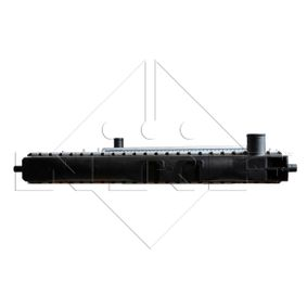 50121 Radiator, engine cooling NRF - Experience and discount prices
