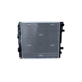Kühler, Motorkühlung NRF 50587 mit 33% Rabatt kaufen