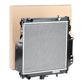 Radiateur NRF 513161 Koelribben gesoldeerd, Aluminium — Nu