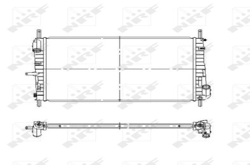 NRF Kühler, Motorkühlung 51577
