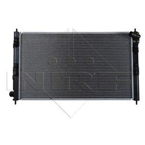 53593 NRF Kühlrippen gelötet, Aluminium Kühler, Motorkühlung 53593 günstig kaufen