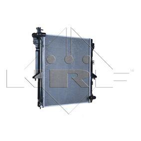 53907 NRF Kühlrippen gelötet, Aluminium Kühler, Motorkühlung 53907 günstig kaufen