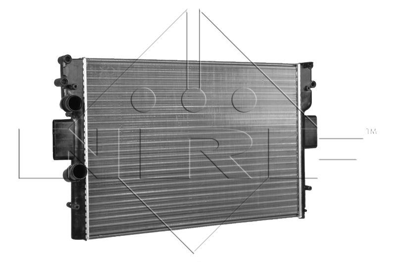 58361 NRF Kühlrippen mechanisch gefügt, Aluminium Kühler, Motorkühlung 58361 günstig kaufen