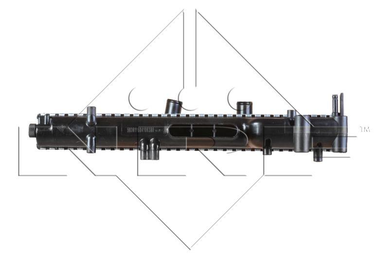 58361 Wasserkühler NRF 58361 - Große Auswahl - stark reduziert