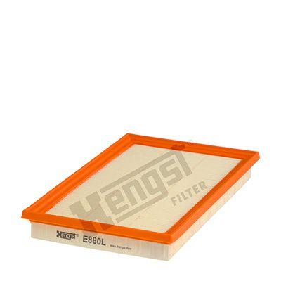Zracni filter E880L z izjemnim razmerjem med HENGST FILTER ceno in zmogljivostjo