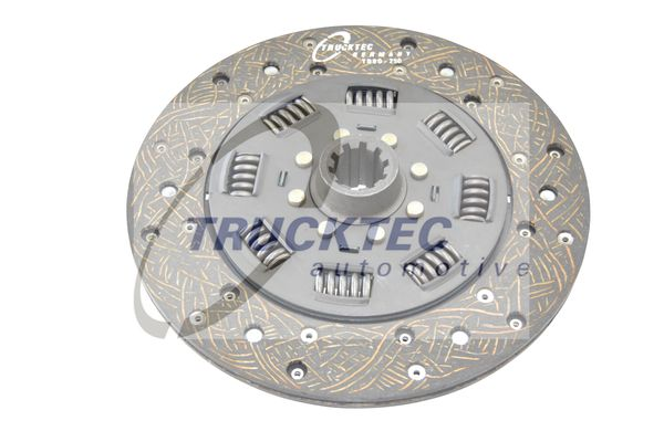 Clutch plate 01.23.114 TRUCKTEC AUTOMOTIVE — only new parts