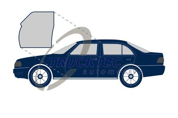 VW POLO Türdichtungen - Original TRUCKTEC AUTOMOTIVE 02.53.049