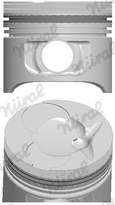 NÜRAL: Original Kolben 87-743107-10 ()
