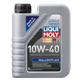 APICF LIQUI MOLY МoS2, Leichtlauf 10W-40, 1L, aceite parcialmente sintético Aceite de motor 1091 a buen precio