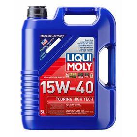 PSAB712295 LIQUI MOLY Touring High Tech 15W-40, Inhalt: 5l Motoröl 1096 günstig kaufen