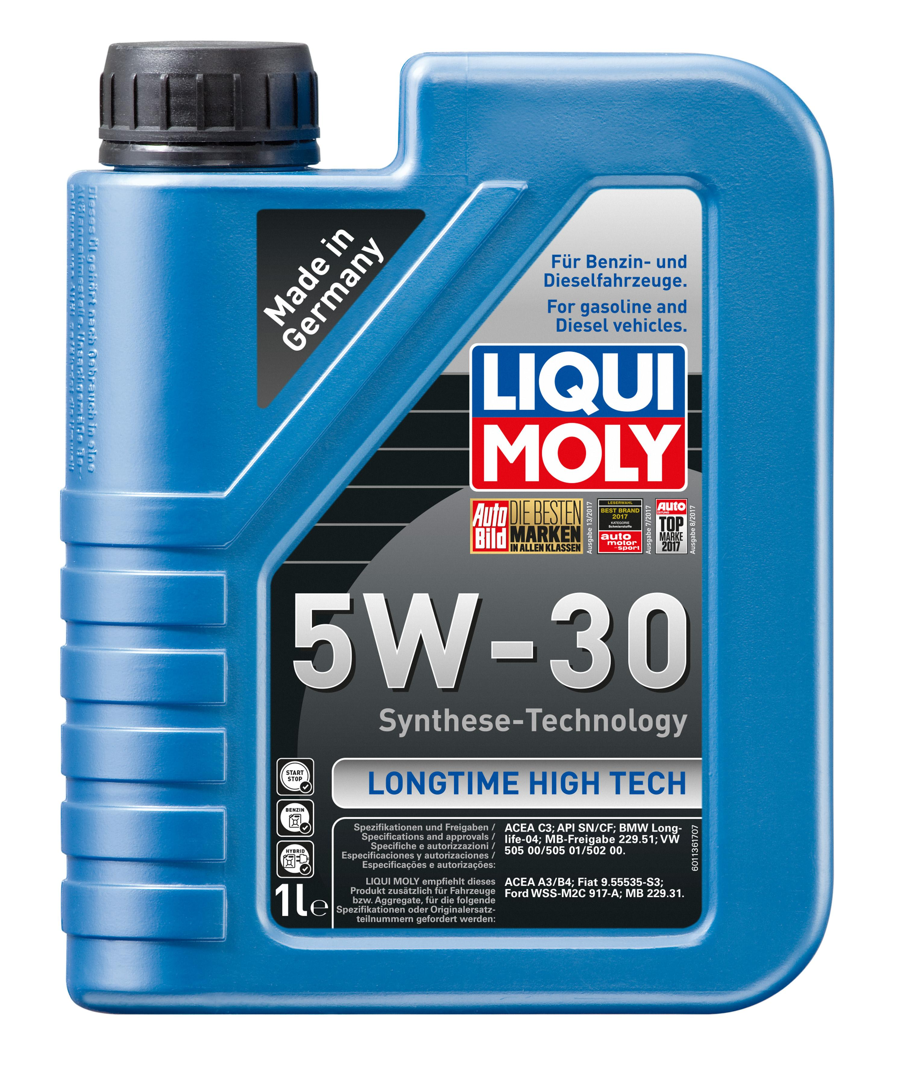 LongtimeHighTech5W30 LIQUI MOLY Longtime High Tech 5W-30, Inhalt: 1l Motoröl 1136 günstig kaufen