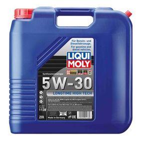 ACEAB4 LIQUI MOLY Longtime High Tech 5W-30, Inhalt: 20l Motoröl 1138 günstig kaufen