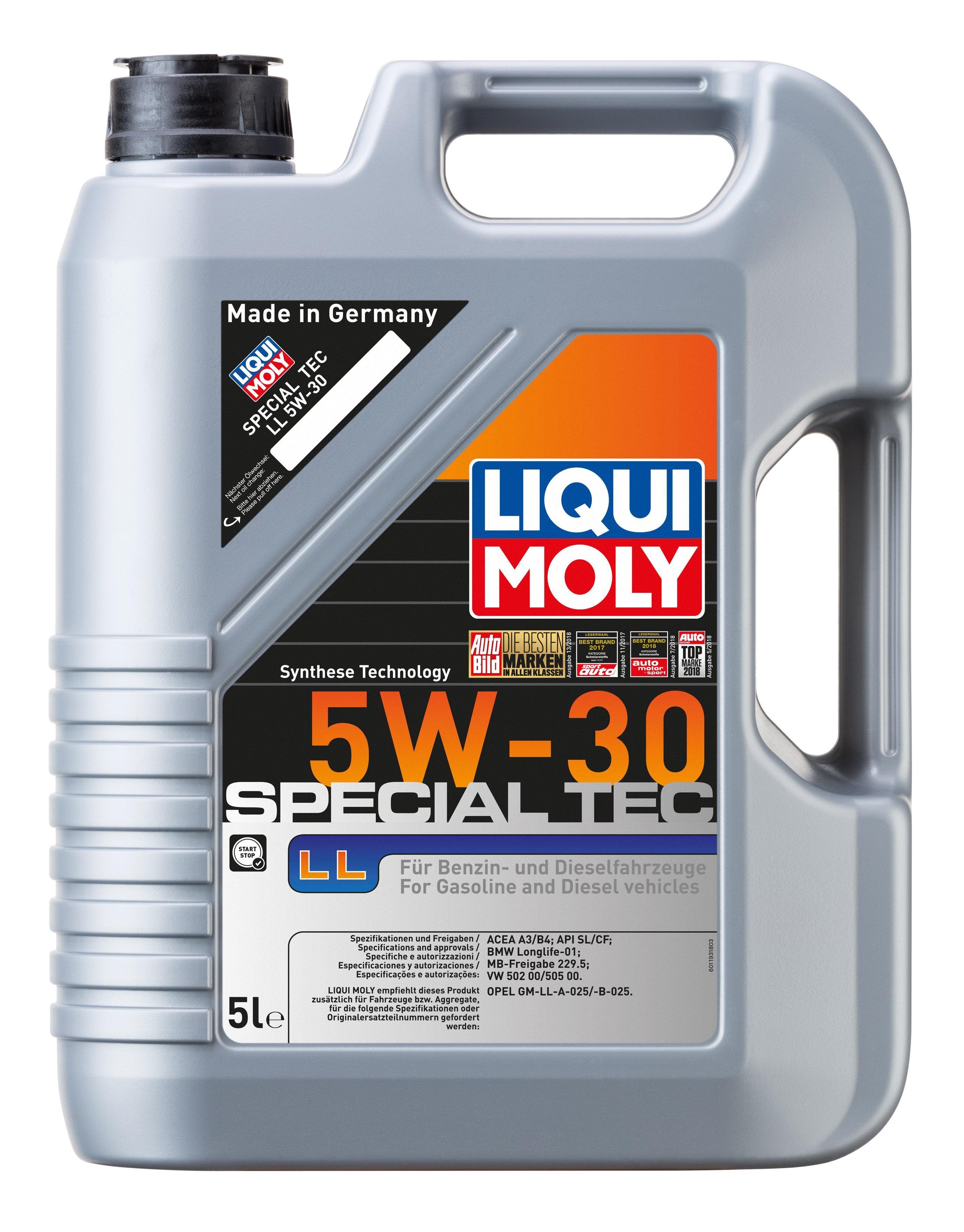 1193 LIQUI MOLY Motoröl Bewertung