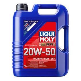 MB2283 LIQUI MOLY Touring High Tech 20W-50, Inhalt: 5l Motoröl 1255 günstig kaufen