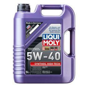 Купете LIQUI MOLY Synthoil 5W-40, High Tech, съдържание: 5литър Двигателно масло 1307 евтино