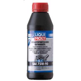 MILL2105D LIQUI MOLY GL5 75W-90, Helsyntetisk olja API GL-5, MIL-L 2105 C, MIL-L 2105 D Växellådeolja 1413 köp lågt pris