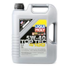 Pirkti RenaultRN0710 LIQUI MOLY Top Tec, 4100 5W-40, 5l, Visiškai sintetinė alyva Variklio alyva 3701 nebrangu