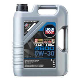 LIQUI MOLY Top Tec, 4600 5W-30, 5l, Vollsynthetiköl Motoröl 3756 günstig