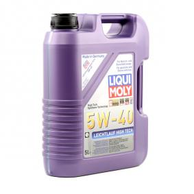 Osta PSAB712296 LIQUI MOLY Leichtlauf, High Tech 5W-40, 5l, Täissünteetikaõli Mootoriõli 3864 madala hinnaga