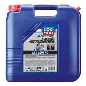 VW50150G50 LIQUI MOLY Capacity: 20l Manual Transmission Oil 4435 cheap