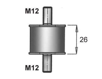 Gummistreifen, Abgasanlage DINEX 21905