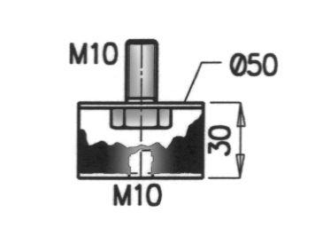 Gummistreifen, Abgasanlage DINEX 49910