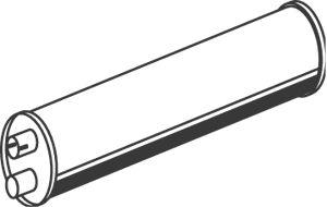 50363 DINEX Mittel- / Endschalldämpfer billiger online kaufen
