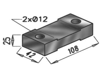 Gummistreifen, Abgasanlage DINEX 50904