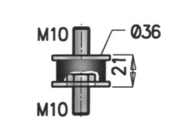 Gummistreifen, Abgasanlage DINEX 50910