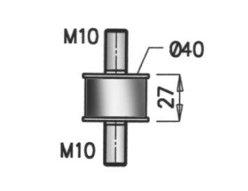 OE Original Gummistreifen, Abgasanlage 64804 DINEX