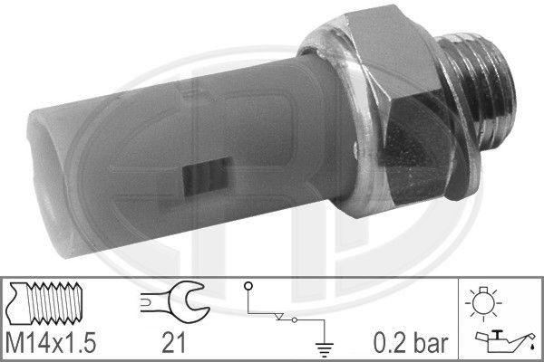 ERA: Original Öldruckventil 330027 (Anschlussanzahl: 1)