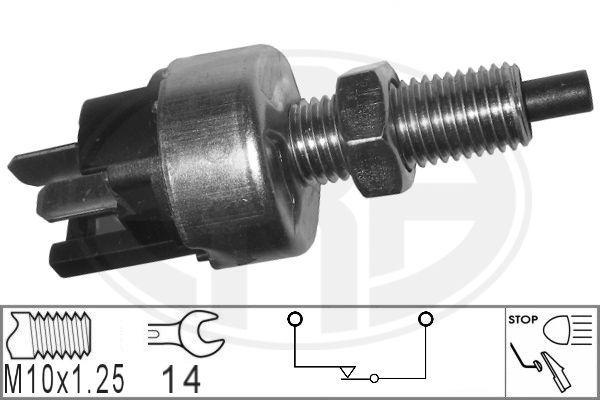 ERA: Original Bremspedalschalter 330039 (Anschlussanzahl: 2)
