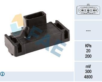 OE Original Sensor, Saugrohrdruck 15002 FAE