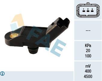 15009 FAE Pol-Anzahl: 3-polig Sensor, Saugrohrdruck 15009 günstig kaufen