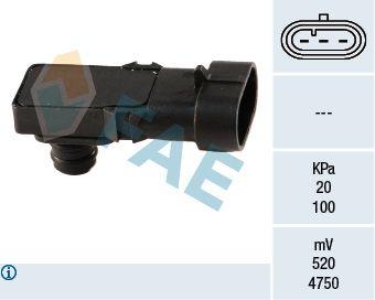 15016 FAE Pol-Anzahl: 3-polig Sensor, Saugrohrdruck 15016 günstig kaufen