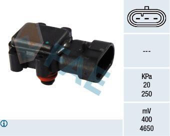 15018 FAE Pol-Anzahl: 3-polig Sensor, Saugrohrdruck 15018 günstig kaufen