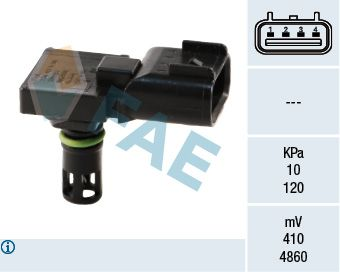 OE Original Sensor, Saugrohrdruck 15039 FAE