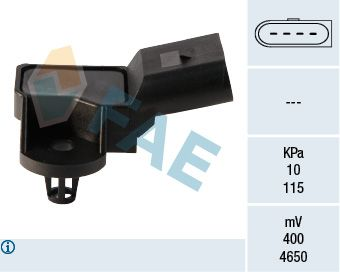 OE Original Sensor, Saugrohrdruck 15042 FAE