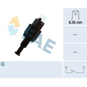 Daewoo Espero nexia matiz Febi 02803 Interruptor de luz de freno Opel Astra F