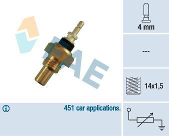 FAE: Original Sensor Kühlmitteltemperatur 32220 ()
