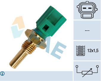 Reservdelar TOYOTA PASEO 1990: Sensor, oljetemperatur FAE 33250 till rabatterat pris — köp nu!