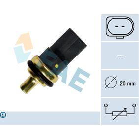 FAE Número de polos: 2polos Sensor, temperatura del refrigerante 33784 a buen precio