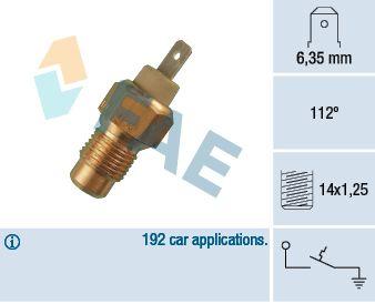 FAE: Original Lüfterschalter 35180 ()