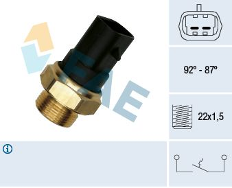 Interruptor de temperatura, ventilador do radiador 37220 para INNOCENTI preços baixos - Compre agora!