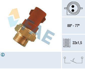Купете 37230 FAE Термошалтер, вентилатор на радиатора 37230 евтино