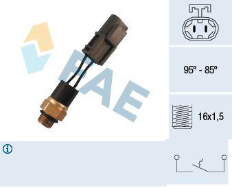 FAE: Original Thermoschalter Lüfter 37550 ()