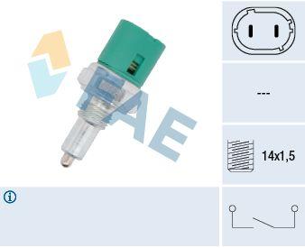 Accesorios y recambios OPEL MOVANO 2012: Interruptor, piloto de marcha atrás FAE 40600 a un precio bajo, ¡comprar ahora!